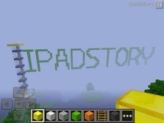 Minecraft на iPad
