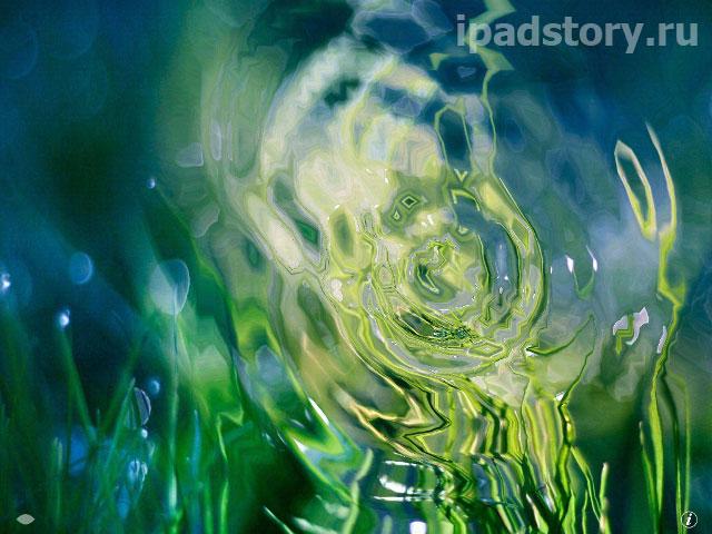 Weather Genie - скриншот программы на iPad