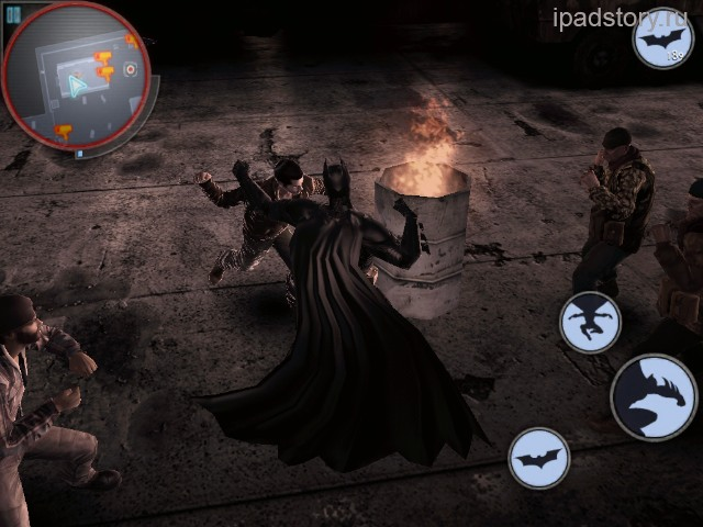 Бэтмен на iPad