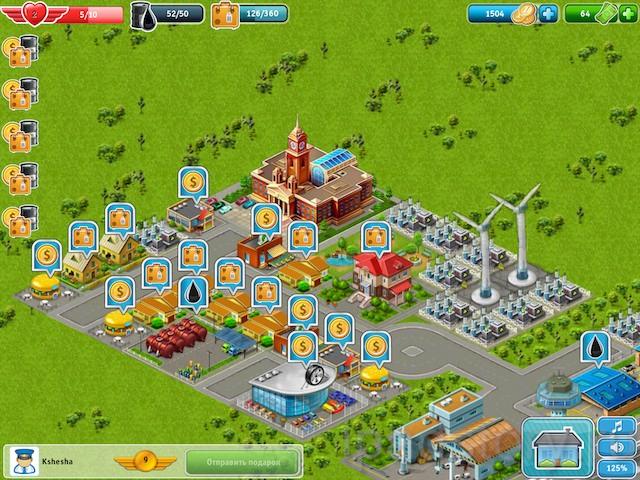 Аэропорт-Сити HD - игра для iPad, друзья в игре