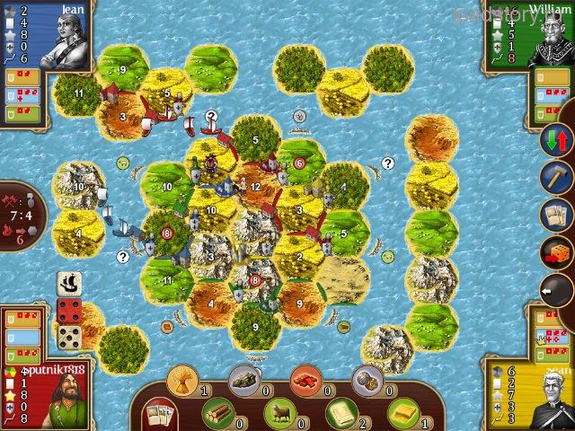 Города и Рыцари на iPad
