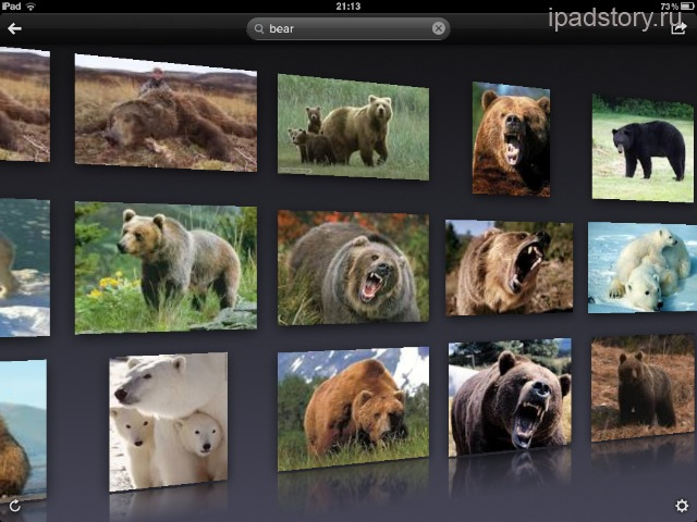 Cooliris на iPad