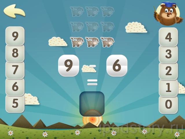 Дошкольное обучение на iPad