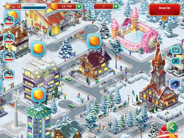 Горнолыжный курорт HD: создай лучший парк развлечений на iPad