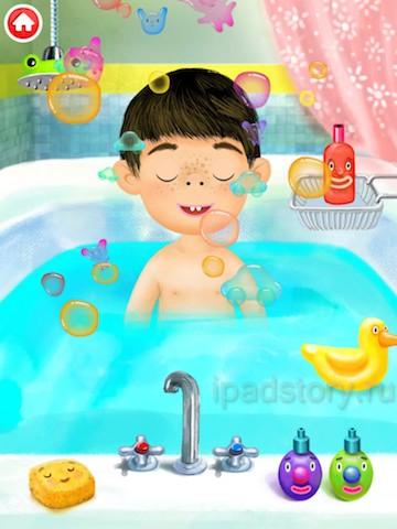Pepi Bath - детское приложение для iPad