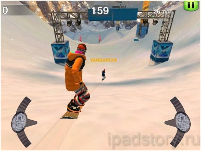 SummitX Snowboarding HD – хороший симулятор сноуборда для iPad