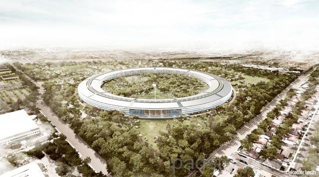новый кампус компании Apple