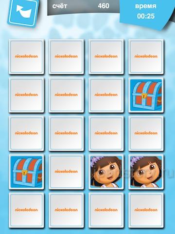 Играем с Дашей! - приложение на iPad