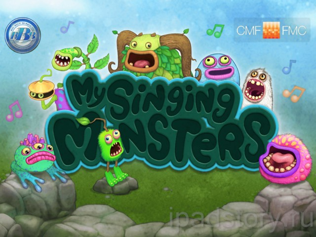 My Singing Monsters - игра на iPad