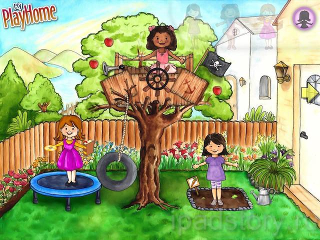 My PlayHome - кукольный дом мечты на iPad