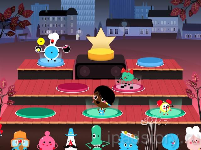 Toca Band - детская музыкальная игра на iPad