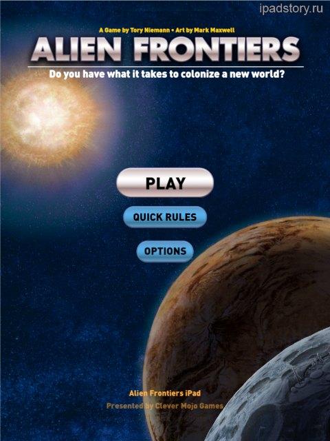 Alien Frontiers iPad