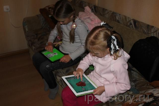 Faces iMake - Лера и Даша творят :)