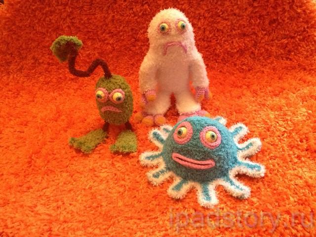 вязаные игрушки из игры My Singing Monsters