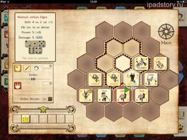 Titan на iPad