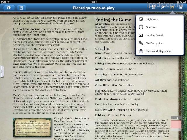 Foxit PDF iPad