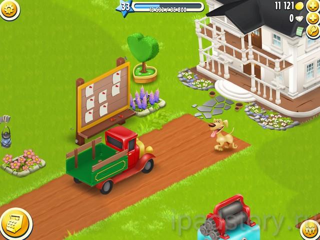 Hay Day - игра на iPad