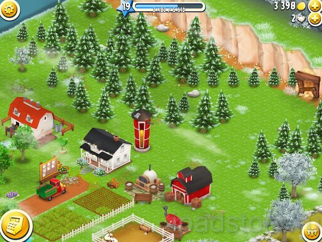 Hay Day - одна из самых лучших бесплатных игр для iPad