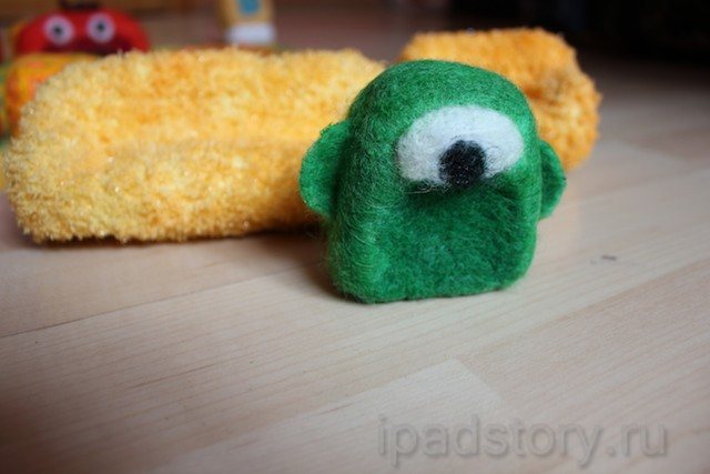 игрушки из игры Pudding Monsters