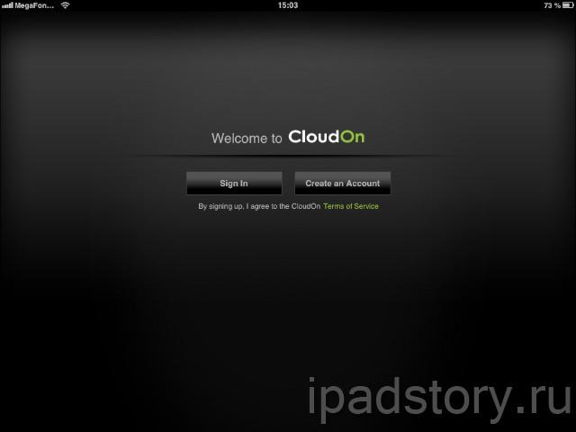 CloudOn для iPad
