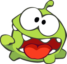 Ам Ням из игры Cut The Rope
