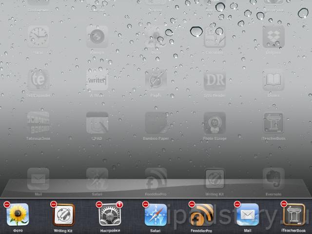 закрыть приложение на iPad