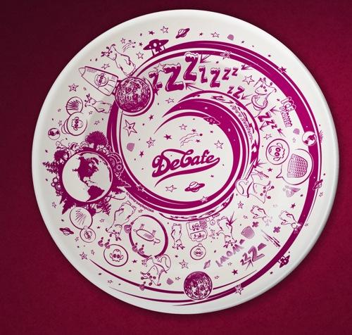 Тарелка DeCafe