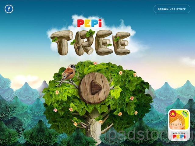 Pepi Tree - детская игра для iPad