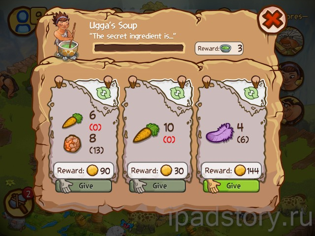The Croods - игра для iPad