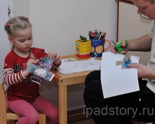 Саша и Виталий в процессе творчества :)