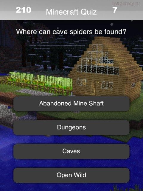Quiz for Minecraft