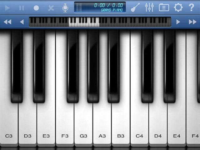 iPad и Пианино