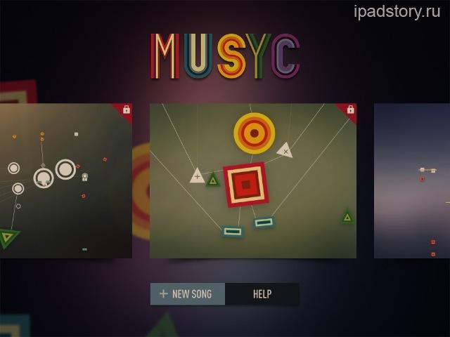 musyc iPad