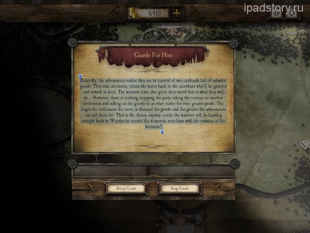Warhammer Quest на iPad