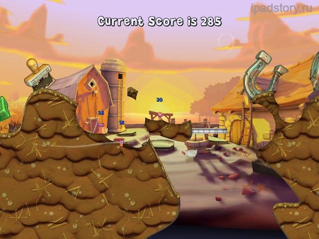 Worms 3 на iPad