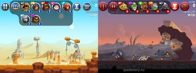 Angry Birds Star Wars II. Татуин