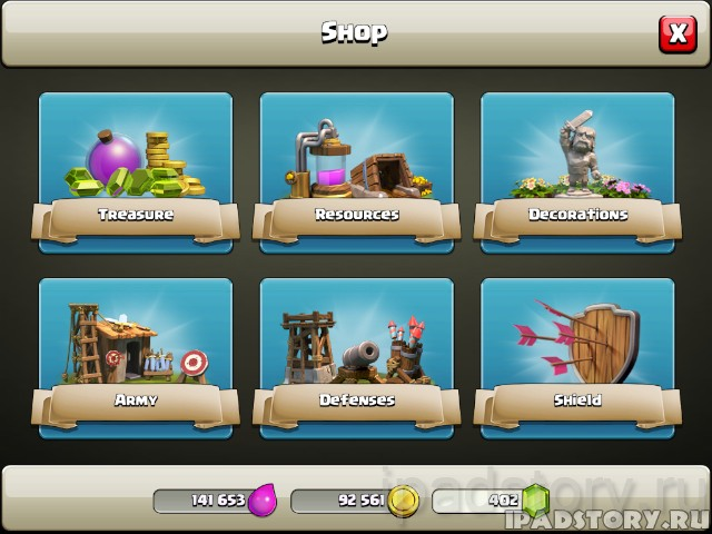 Clash Of Clans: секреты игры на iPad