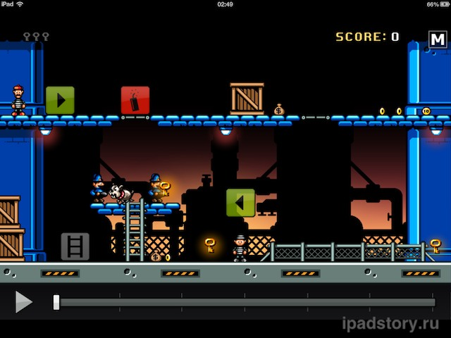 Jailhouse Jack - скриншот игры для iPad