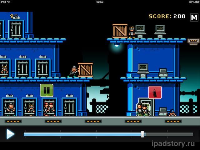 Jailhouse Jack - скриншот игры для iPad от Donut Games