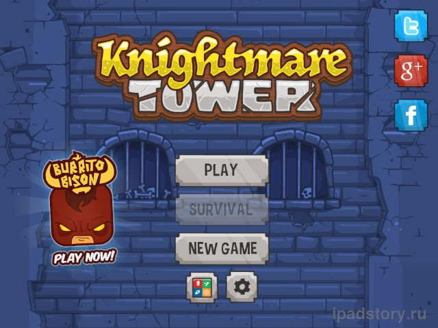 Knightmare Tower iPad