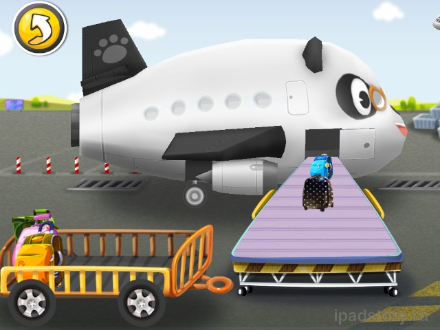 Airport Dr.Panda на iPad