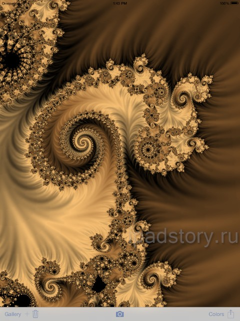 Magic Fractals - множество Жюлиа