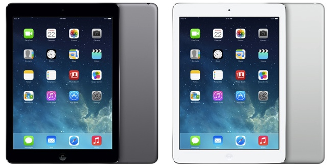 iPad Air Colors
