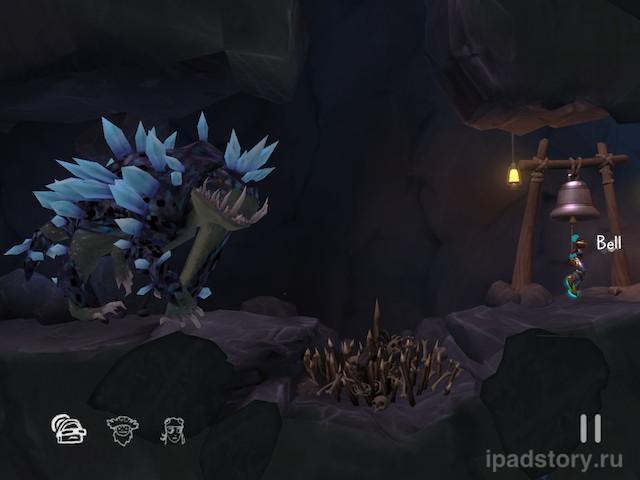 The Cave на iPad