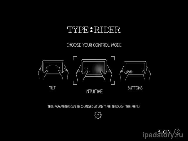 Type:Rider ipad