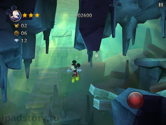 Castle of Illusion на iPad