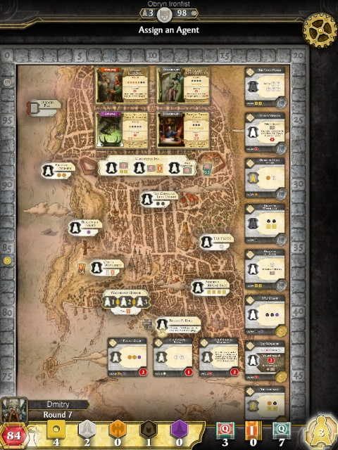 Lords of Waterdeep на iPad
