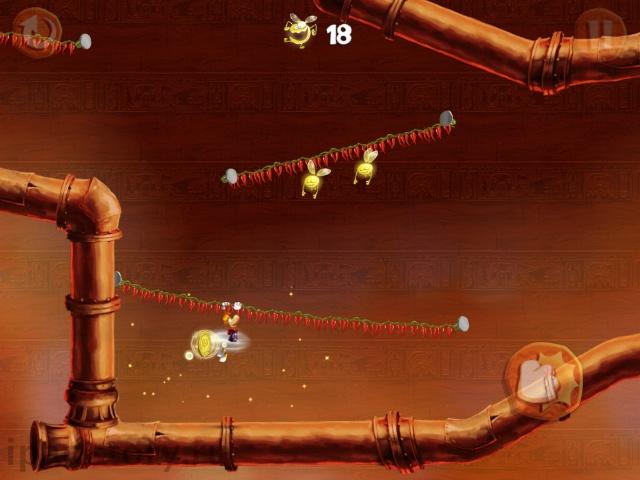 Rayman Fiesta Run на iPad