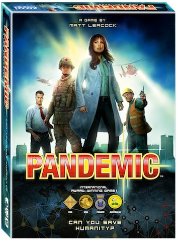 Пандемия настольная