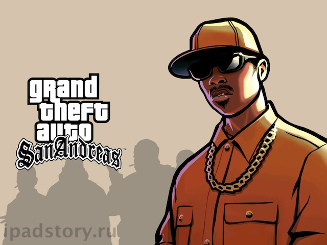 GTA: San Andreas на iPad